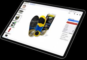 Catalogo digitale prodotto illustrato