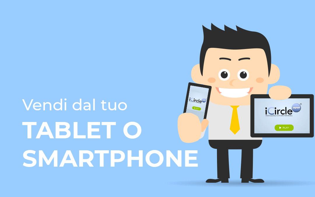 Vendi con tablet/smartphone catalogo prodotti iPad/Android